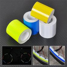 5cm*3M Reflective Safety Warning Conspicuity Tape Film Sticker For Vehicles Bike Bicycles Cars Motorcycles Ships Fairways Stage