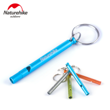 Naturehike Outdoor Survival Loud Whistle Train 4 Colors Aluminum Length 7cm Cheerleading Camping Safety Escape Accessory Tool(China)