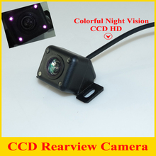 CCD HD universal Car rear view camera car parking backup camera reversing camera color night vision waterproof rear  view camera
