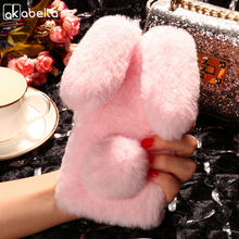 Buy AKABEILA Silicon Case Bluboo Maya Cases Rabbit Hair Bling Diamond Bluboo Maya Soft TPU Cute Anti-knock Cover for $5.80 in AliExpress store