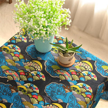 BZ317 Export Japanese wind classical tradition lace table linen tablecloth towel(China)