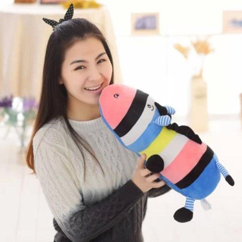 45cm Colorful LED Glowing Donkey Hippo Luminous Plush Children Toys For Girl,Night Donkey Pillow Animal Stuffed Plush Toys WJ449<br><br>Aliexpress