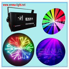 1.2W RGB Animation Laser 1200mW Stage Lightig ILDA 25Kpps DMX control Fast ship DJ(China)
