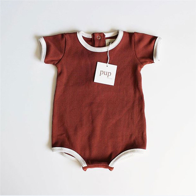 Romper Outfits Short-Sleeve Toddler One-Pieces Baby-Boy-Girl Kids New-Arrival Playsuit title=