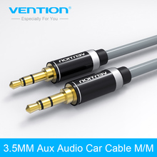 P460AC Serial Vention 0.5~2 Meter AUX Audio 3.5mm Male to 3.5 Male Gold Plated Cable For Car PC Tablet MP3 Cell Phone