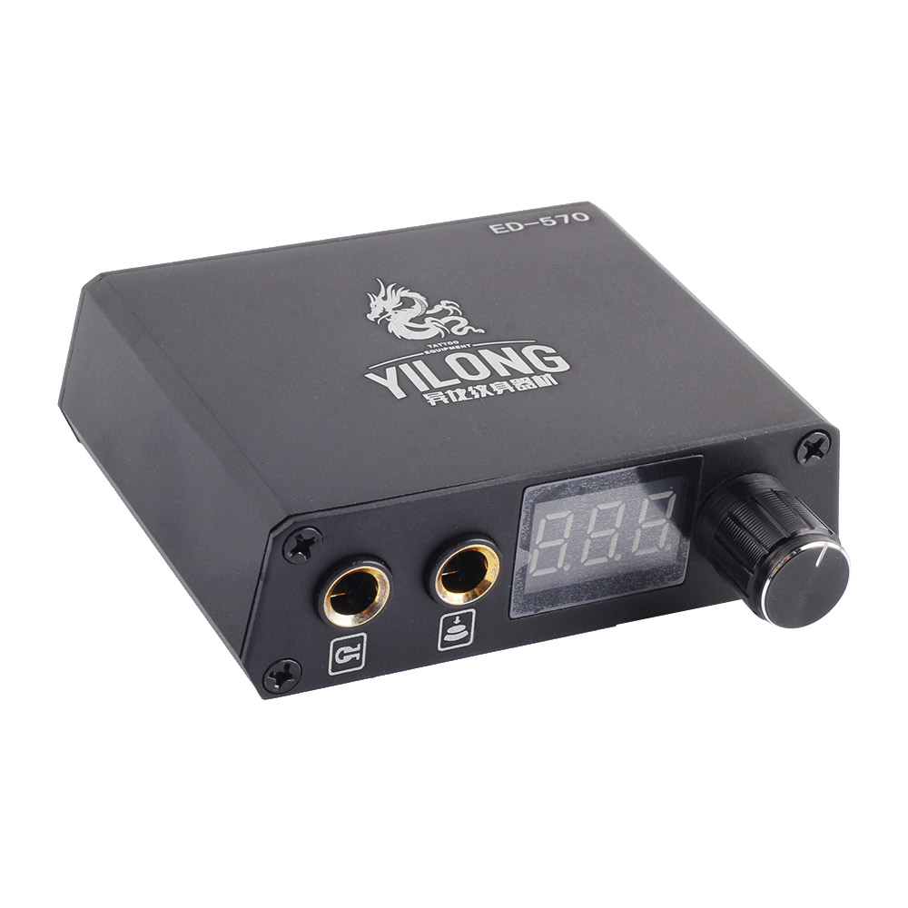 1Pcs New mini  Professional Lcd Tattoo Power Supply for Permanent Makeup Tattoo Machine Kits Supply Power supply adjustable <br>