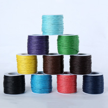 80m/Spool 3MM Wax Cord Waxed Linen Cord Thread Cord Plastic String Strap DIY Rope Bead Necklace Shamballa Bracelet Making