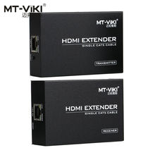 MT-VIKI 100m 330ft HDMI Long Distance Extender over CAT RJ45 LAN Cable 1.4 Extension Repeater MT-ED06(China)