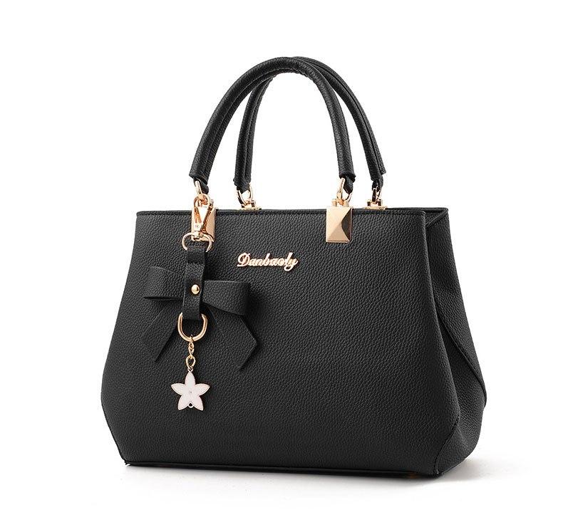 WENYUJH New 18 Elegant Shoulder Bag Women Designer Luxury Handbags Women Bags Plum Bow Sweet Messenger Crossbody Bag for Women 6