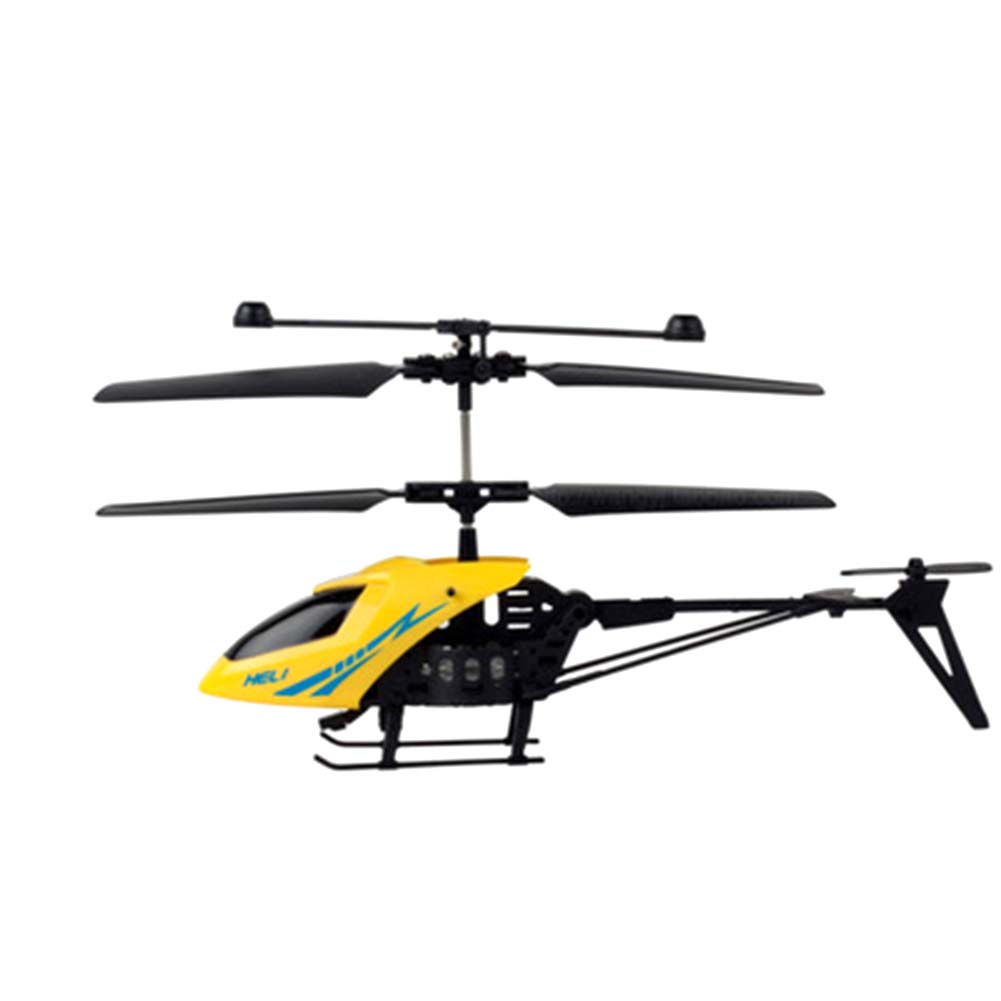 Channel Mini RC Helicopter RC Drone Gyro Crash Resistant RC Toys Kids Boy Gift Red Yellow