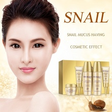 5pcs/lot Whitening Day Cream Face Skin Care Set Facial Essence Lotion Acid Liquid Anti Wrinkle Eye Cream BB Cream
