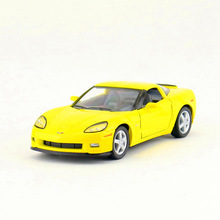 Free Shipping/KiNSMART Toy/Diecast Model/1:36 Scale/2007 Chevrolet Corvette Z06 Super/Pull Back Car/Collection/Gift For Children(China)