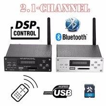 2018 Latest Nobsound 2.1 Channel Bluetooth 4.0 High-Power Digital Amplifier DSP HiFi Lossless Audio Player Small Desktop Amp
