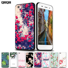 Phone cases For Huawei P8 Lite case Silicon black TPU cover capa for HUAWEI P9 Lite case for huawei G9 case cover Flower cross