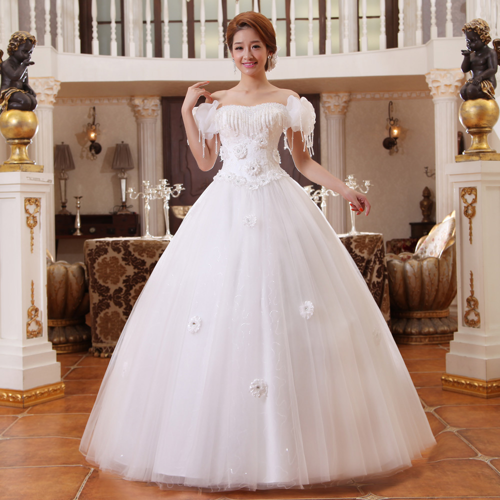 Elegant Princess Cut Wedding Gown Real Pictures Customized Plus Size Off shoulder Lace Ball Gown Wedding Dress guna bainise