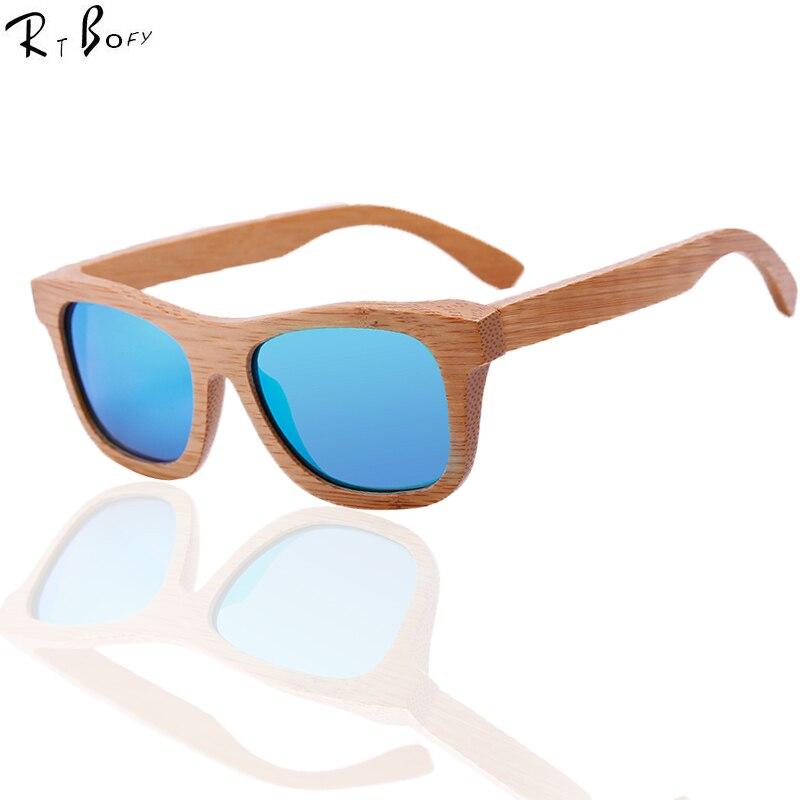 RTBOFY Fashion Products Men Women Glass Bamboo Sunglasses au Retro Vintage Wood Lens Wooden Frame Handmade. ZA03<br><br>Aliexpress