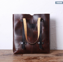 Original design restoring ancient ways head layer cowhide women's single shoulder bag leather handbag all contracted handbag