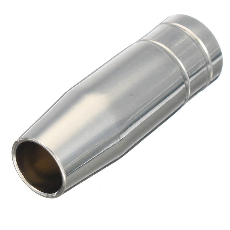 boquillas Puntas de contacto Soportes Antorcha de soldadura TIG Accesorio consumible para soldador MIG Ajuste para pistola de antorcha 15AK Antorcha de soldadura TIG de 11 piezas Rechoncho
