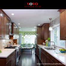 Solid Wood Kitchen Cabinet Manufacturer in White Color