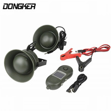 DONGKER Airsoft MP3 Animal Bird Sound Loudspeaker Outdoor Shooting Hunting Decoy Caller Two Speaker Bird Caller Player Tool