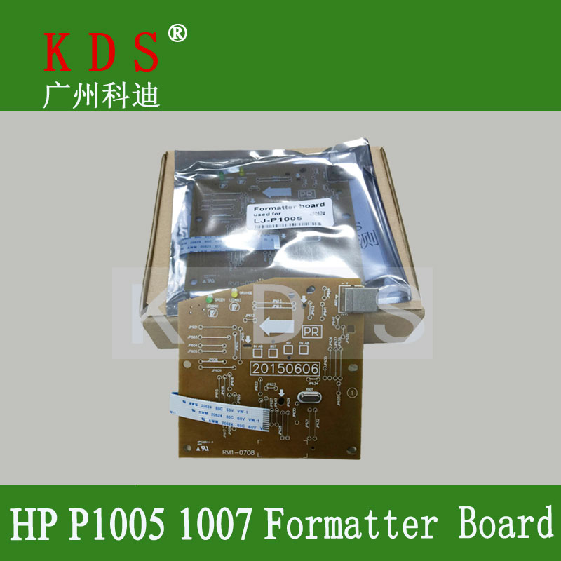 1 pcs/lot printer spare parts Formatter Board for HP  P1005 P1007 Mother Board laserjet parts Main board in china<br><br>Aliexpress