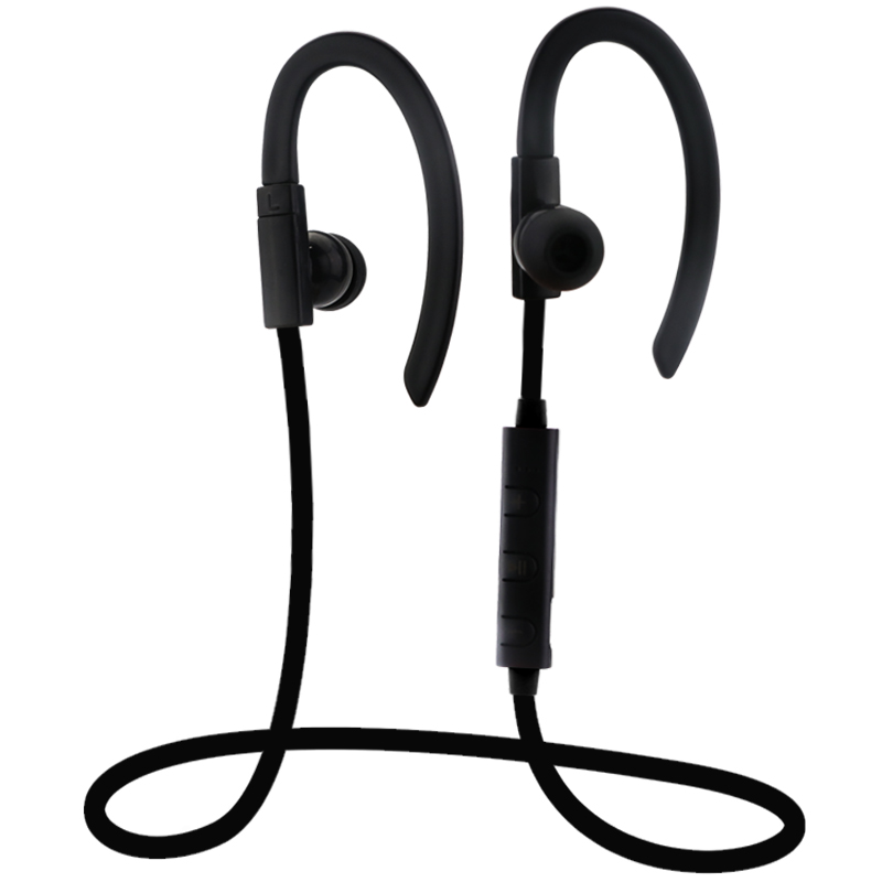 Origianl Wireless Bluetooth Headset Stereo Music Sport Headphones Ear Hook Bluetooth Earphones Mic Universal For Xiaomi Samsung<br><br>Aliexpress