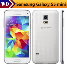 "Original Unlocked Samsung Galaxy S5 mini G800F Mobile phone 4.5"" Android Quad Core 1.5 RAM 16GB ROM 8.0MP Refurbished(China)"