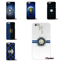 For Inter Milan Football Club Logo Soft Silicone Case For HTC One M7 M8 A9 M9 E9 Plus Desire 630 530 626 628 816 820(China)