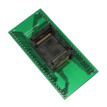ECU TSOP56 Programming Socket Pitch 0.5mm Chip Size 14x18mm Open Top IC Programmer Test Socket Flash Adapter