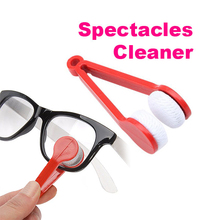 2017 Fashion Sun glasses Cleaner Eyeglass Microfiber Spectacles Cleaner (Random Color ) H9(China)