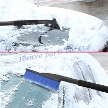 Car Outdoors Resistant 3-In-1 Heat Low Temperature Chemical Resistant Ice Snow Brush Scraper Cleaner Assemb Tools Accessories(China)
