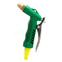 Home Garden Car Washing Water Gun Adjustable Copper Gun Head High Pressure Washer Gun