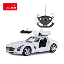 Rastar Licensed rc car R/C 1:14 SLS AMG with lights opened door remote control high speed drift toy car 47600(China)