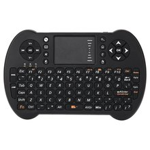 VIBOTON-S501 Mini 2.4GHz Wireless QWERTY Keyboard Air Mouse Combo Support for Computer Android TV Box/Dongle/Projector/Phone