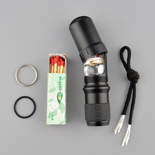 Emergency capsule bottle case seal  waterproof Tool Travel kit EDC Survive medicine match pill Container outdoor hike camp