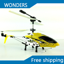 Best price, stablest 3 channel with Gyro RC Mini helicopter RTF Helicopter Built-in Gyro with Infrared helicopter(China)