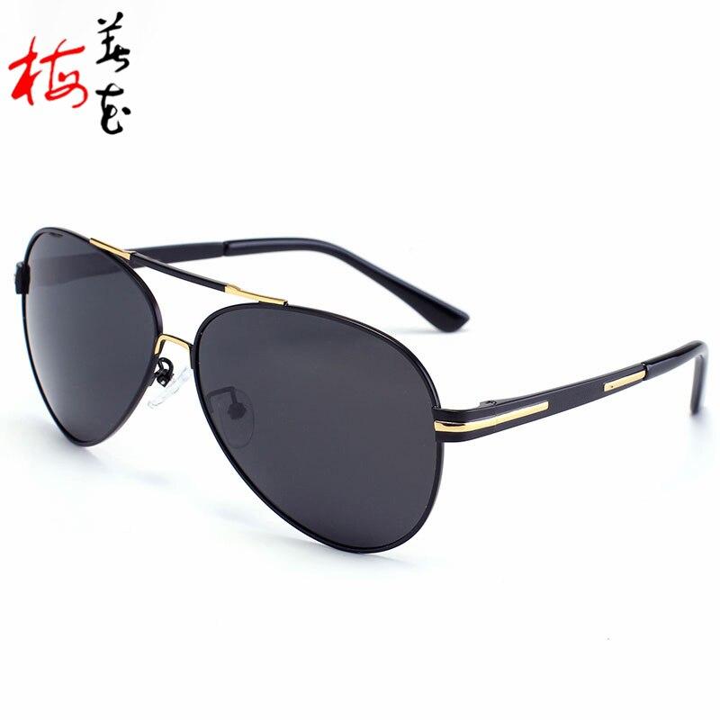 2017 Men Vintage Polarized Aviator Sunglasses Brand Design Shades Oversized Pilot Sun Glasses Alloy Frames Spectacles<br><br>Aliexpress