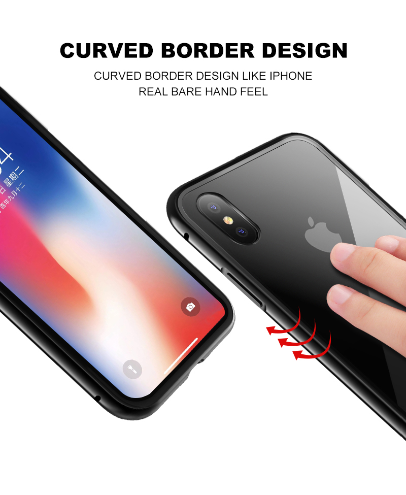 Magnetic case for iphone 8 (7)