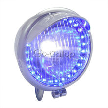 Headlight LED Angel Eye For Honda Shadow VT VT1100 VT750 VT600 VF750 Magna 750/For KAWASAKI VULCAN VN 800 900 1500 1600