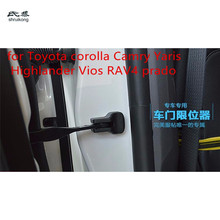 4pcs/lot car door stop rust protection cover for for Toyota corolla Camry YARiS Highlander Vios RAV4 prado(China)