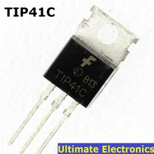 10pcs TIP41C TIP41 NPN Transistor TO-220 NEW(China)
