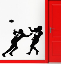 Wall Stickers Vinyl Decal Football Sport Wide Receiver Super Bowl