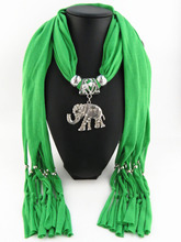 Beautiful jewelry scarves There are animals elephant scarf
