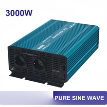 3000W 12v 24v 48v pure sine power inverter dc ac 110v 220v 230v 3000watt 50/60hz invertor