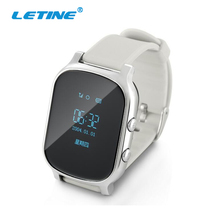 Letine T58 Smart Cell Phone Watch 2017 Kids Children's Clock with Gps Tracker and with SIM Card in Russian for Xiaomi Andriod