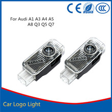 2x Car LED Door Warning Light With S6 Logo Projector For Audi S6 A6 RS RS3 RS4 RS5 RS6 S4 S5 S7 S8 A1 A3 A4 A5 80 TT A8 Q3 Q5 Q7