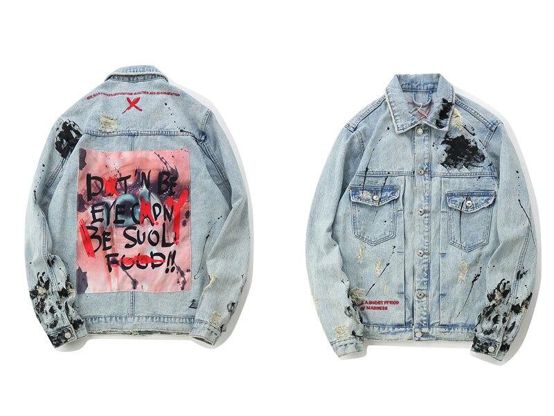Graffiti Denim Jackets 1