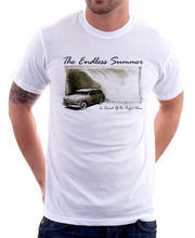 The Endless Summer retro vintage Perfect Wave white cotton t-shirt 9839(China)