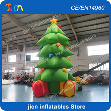 new design giant inflatable Christmas tree for sale,outdoor inflatable christmas decoration trees,outdoor christmas inflatables(China)