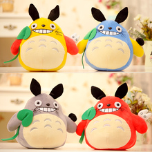 20cmCartoon totoro doll plush toy cloth doll multicolour totoro pillow child birthday gift